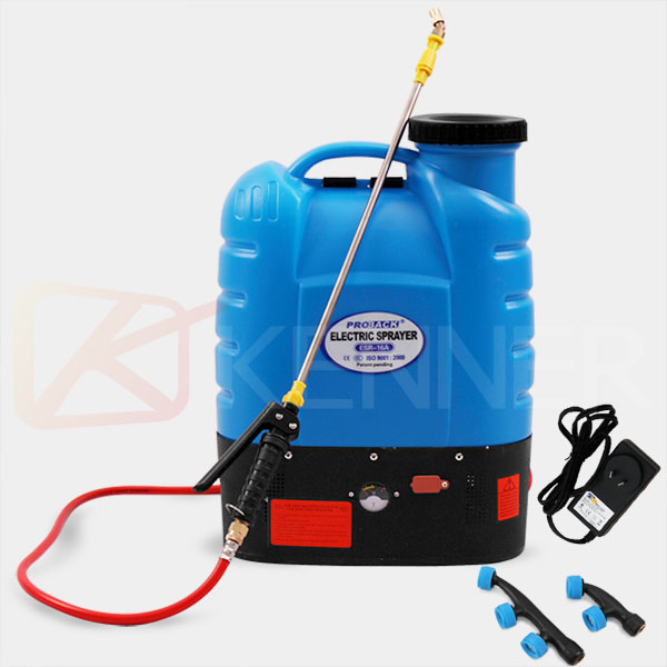16L RECHARGEABLE BATTERY BACKPACK KNAPSACK WEED SPRAYER ...